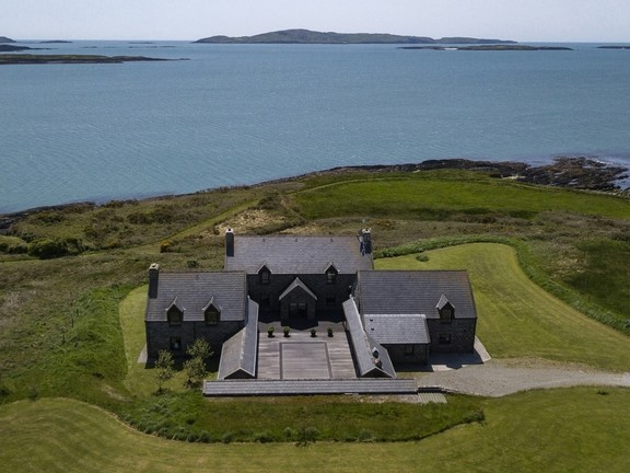 A ilha fica na Irlanda