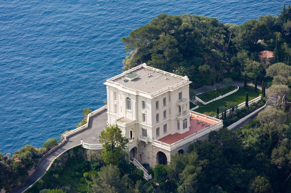 A mansão no Mónaco