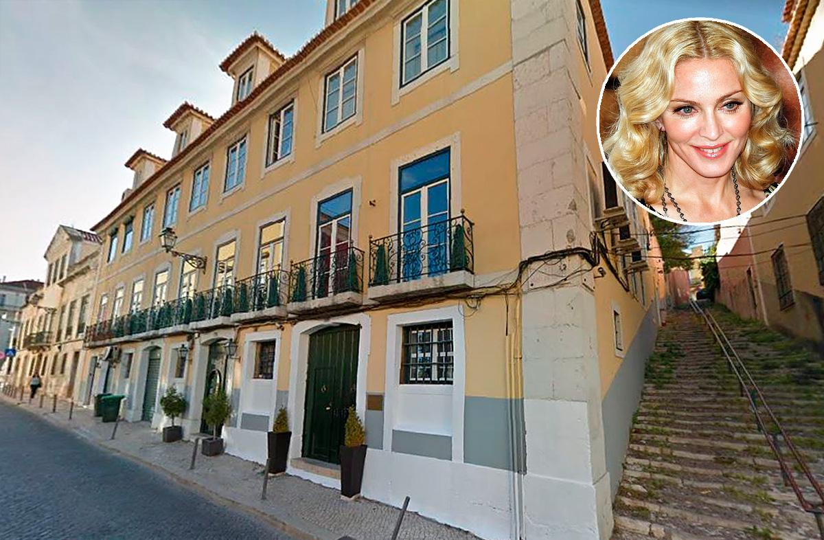 Palácio do Ramalhete, na rua das Janelas Verdes, em Lisboa / Google Maps