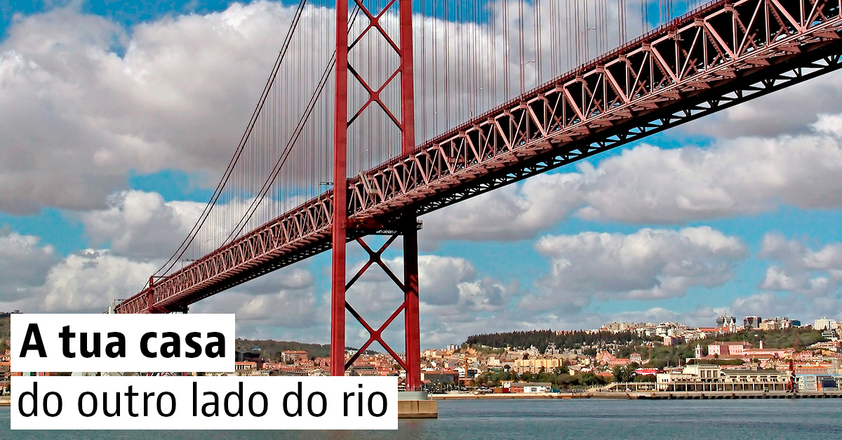 15 casas na Margem Sul do Tejo
