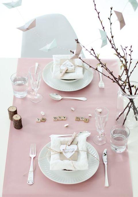 Cores e detalhes para uma mesa perfeita