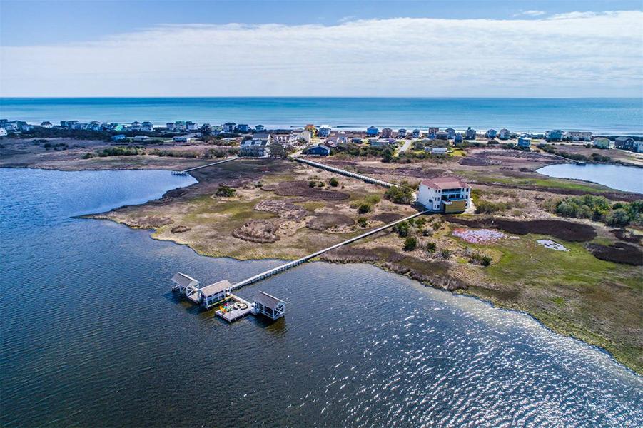 North Topsail Beach Island