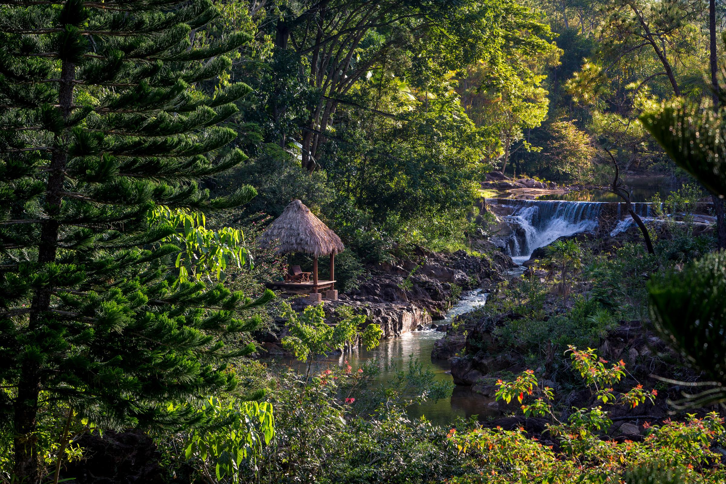 Um paraíso no meio da floresta