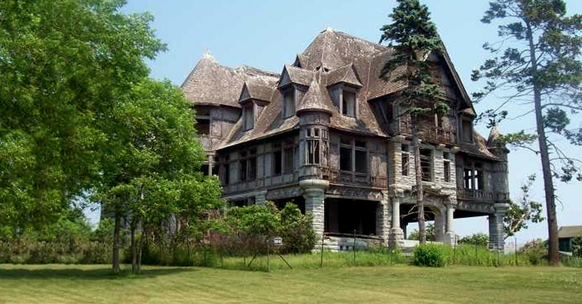 A casa está abandonada há 70 anos