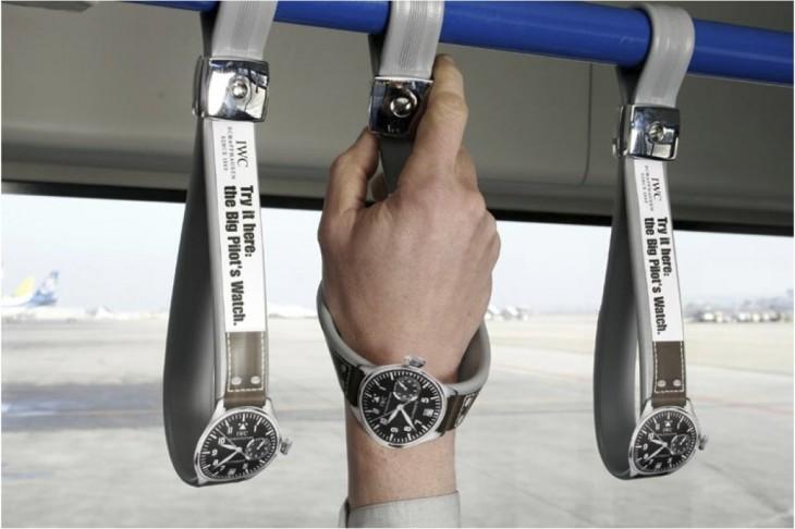 Um 'relógio' que segura os passageiros