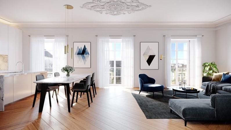 Interior dos apartamentos  / Regal