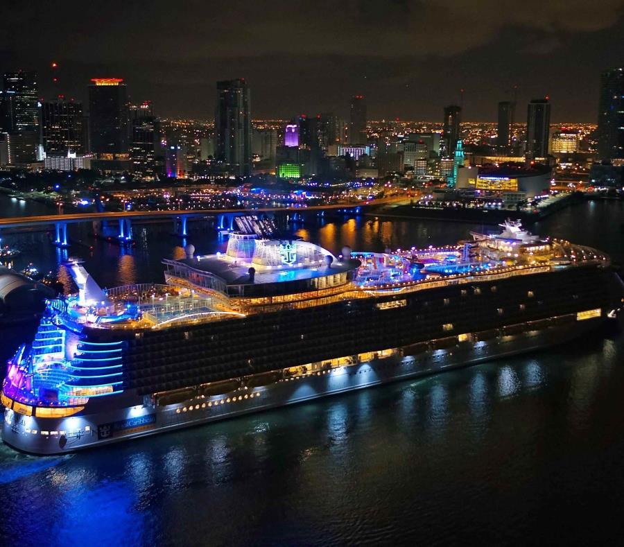 Eis o maior cruzeiro do mundo