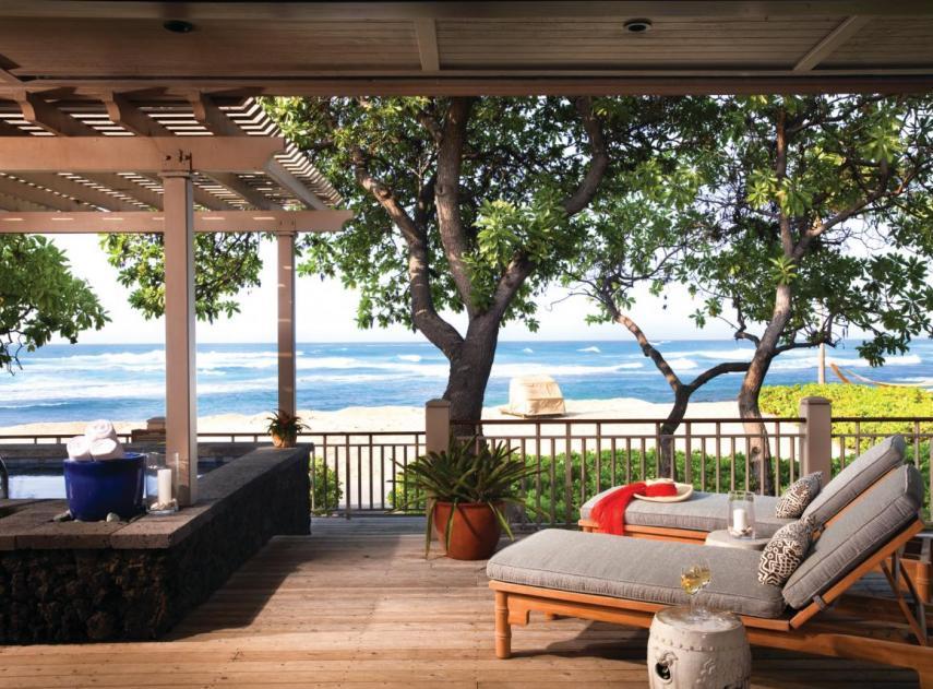 O hotel fica no Hawai