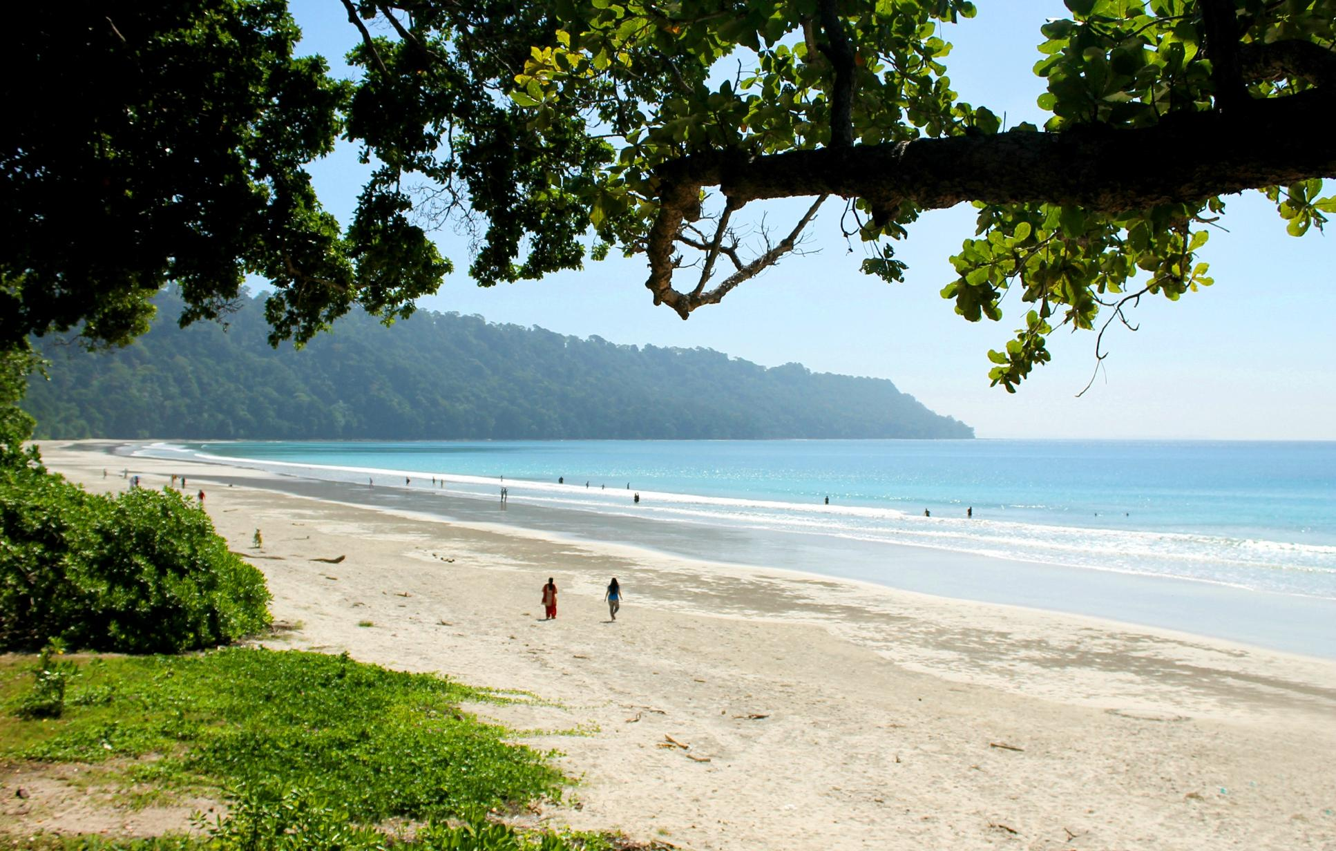 16. Radhanagar Beach