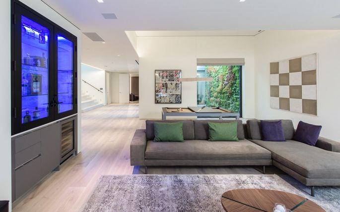A gigante sala de estar