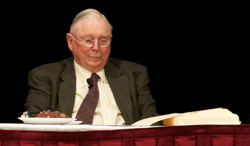 Charlie Munger, vice-presidente da Berkshire Hathaway / Flickr/Creative commons