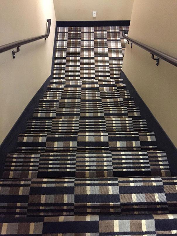 Escadas de ilusão ótica