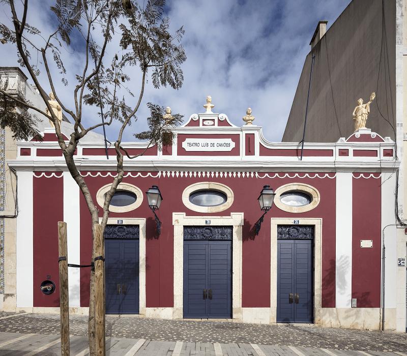 O arquiteto interveio na recuperação do Teatro Luís de Camões /  LU.CA – Teatro Luís de Camões