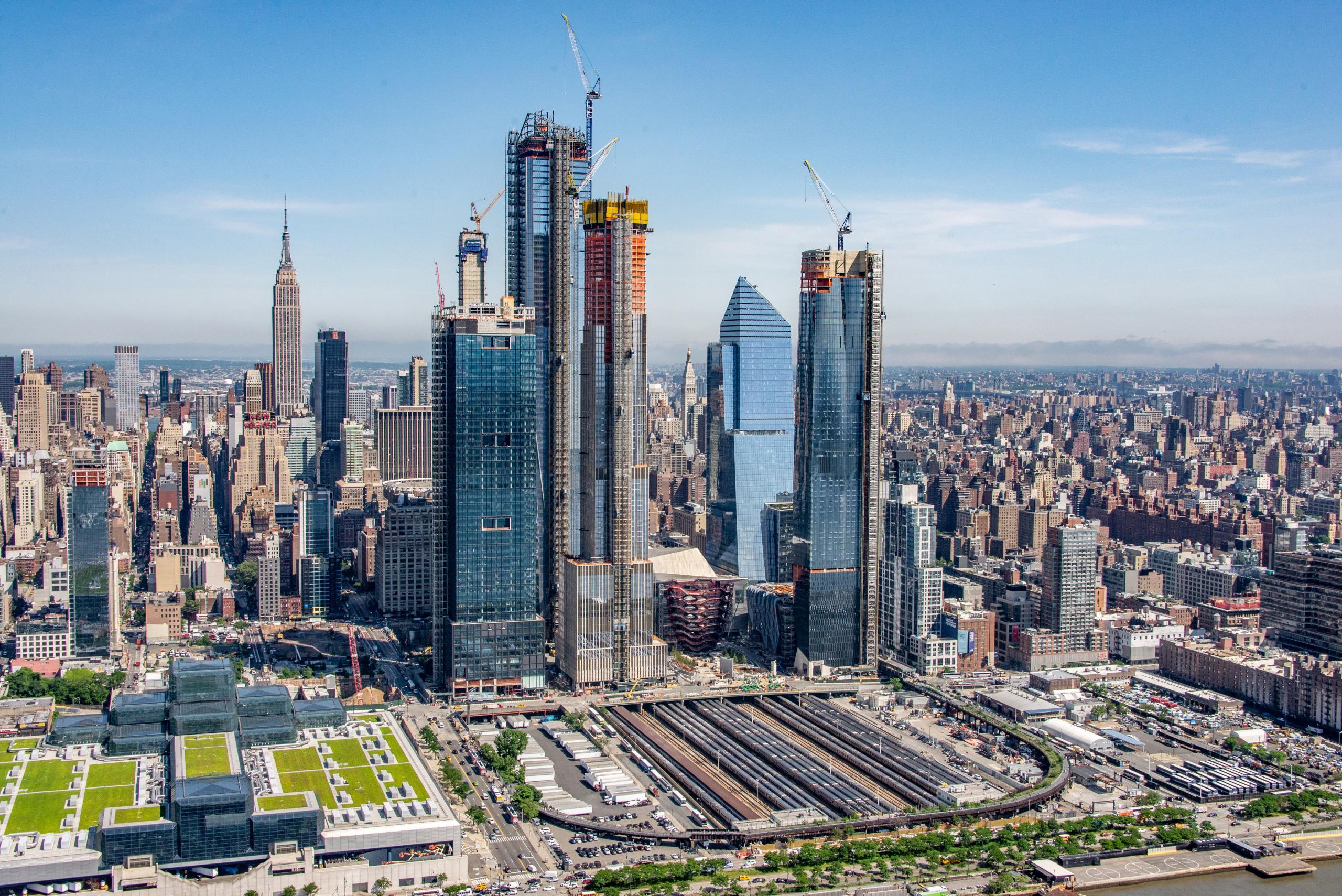 O projeto em maio de 2018 / Hudson Yards