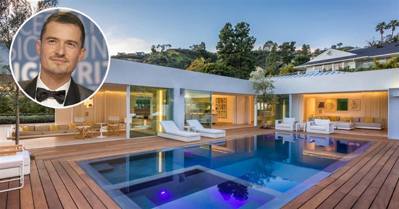 O ator está a vender a mansão por 7,86 milhões