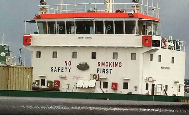 Primeiro fumar ... e depois o resto