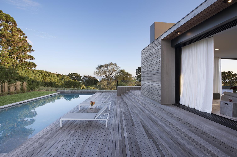 Mais uma perspetiva da piscina