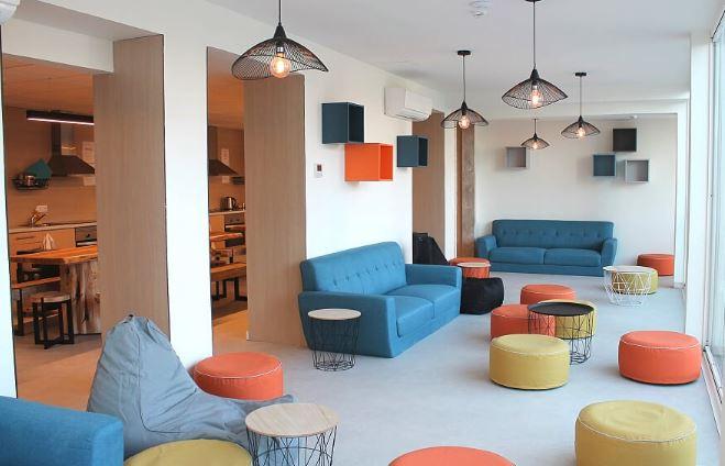 Imagem do interior da Student Ville em Coimbra / StudentVille