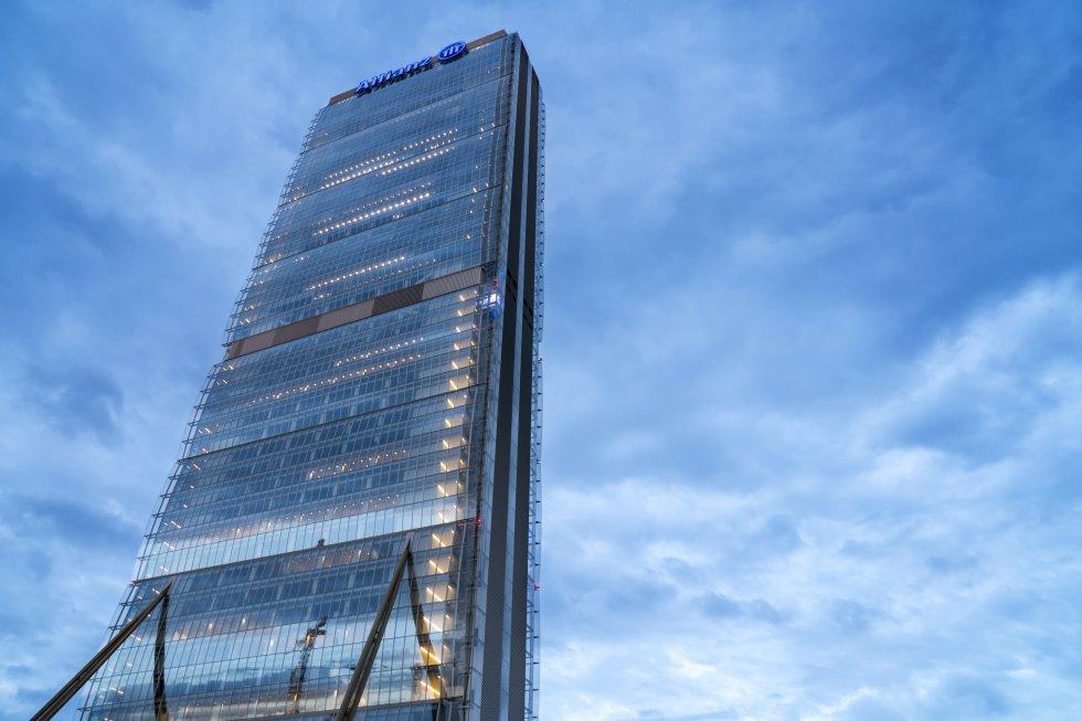 Torre Allianz, em Milão