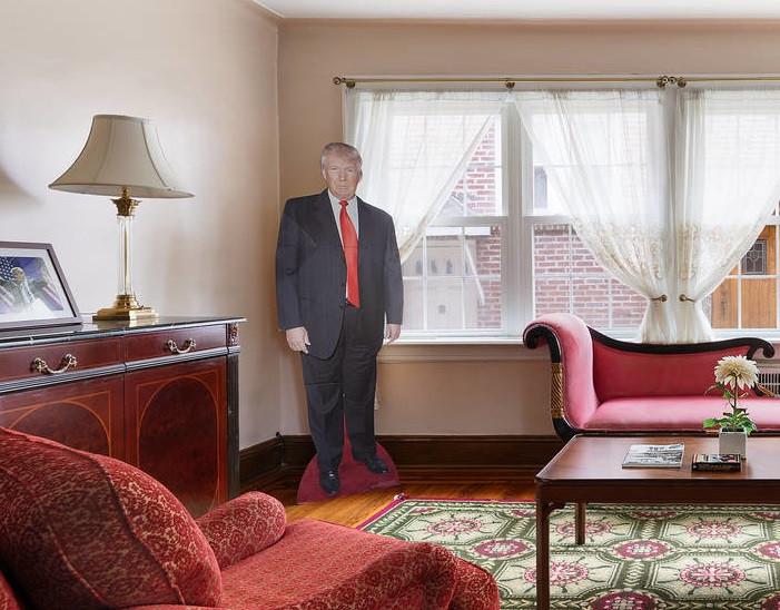 Donalf Trump está 'bem presente' na casa