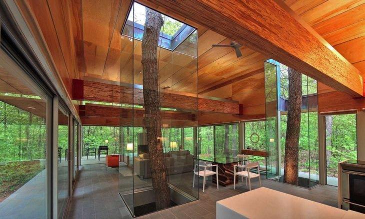 Cabana no bosque em Virginia