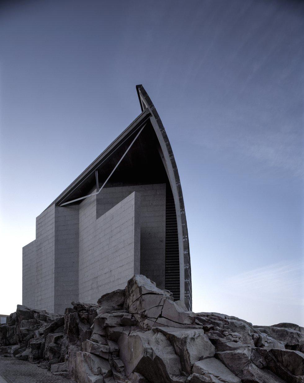 Edifício do Museu La Domus, na Corunha
