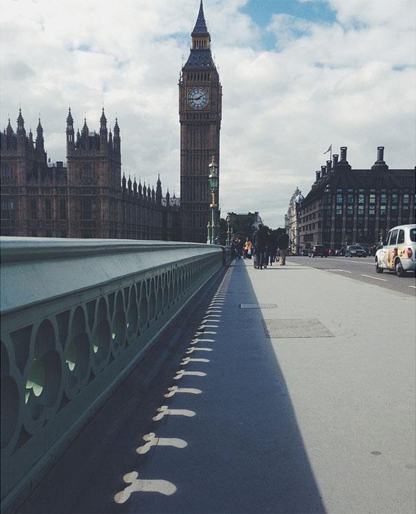 E nem Londres escapa...