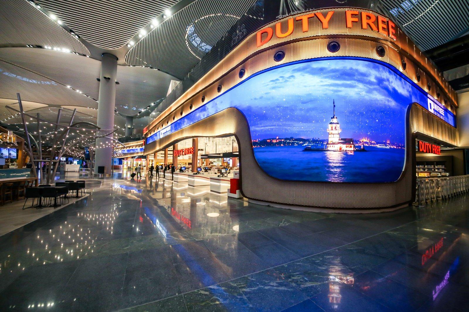 55.000 m2 de lojas duty free
