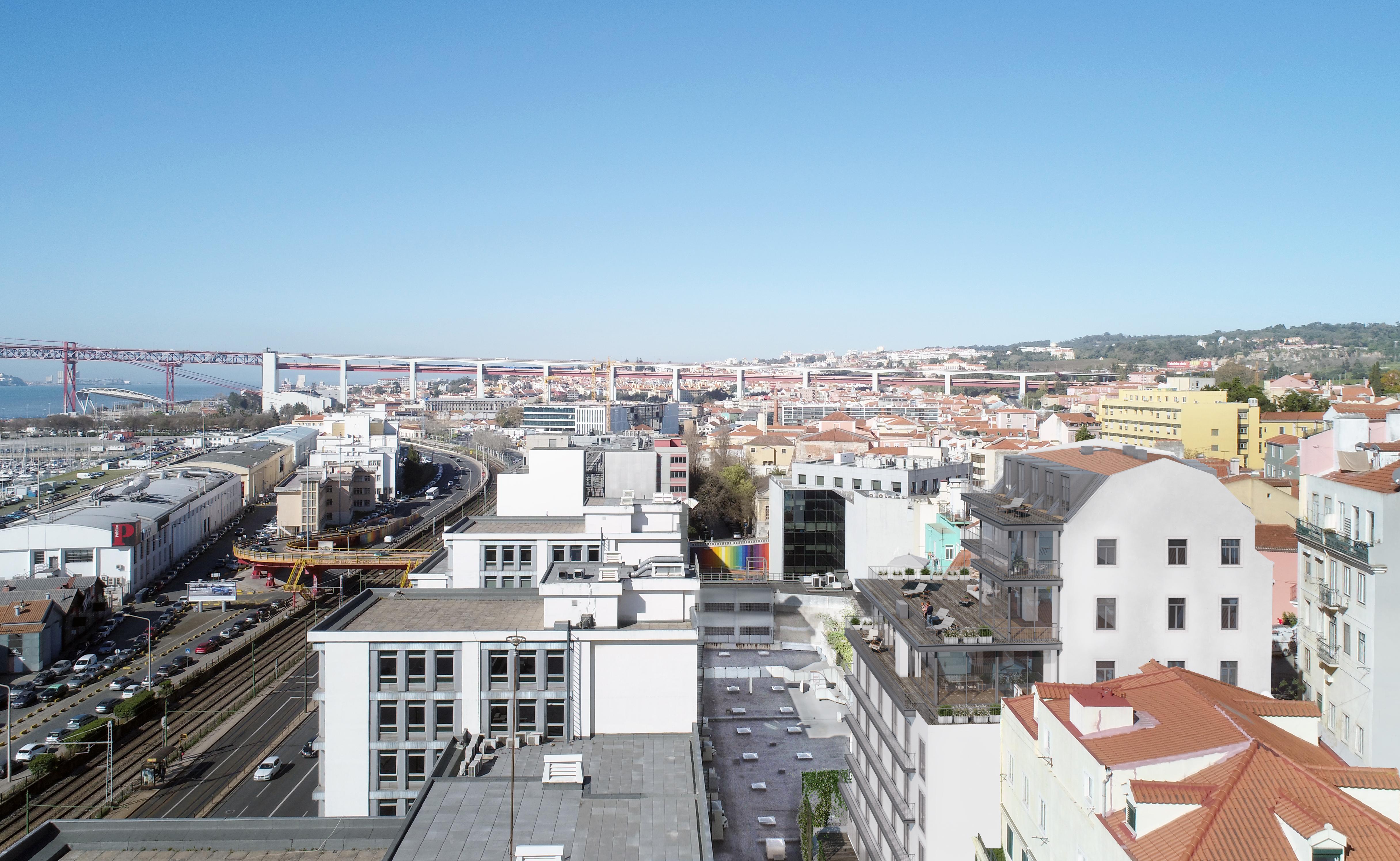 São 16 apartamentos com vista para o rio Tejo / JLL