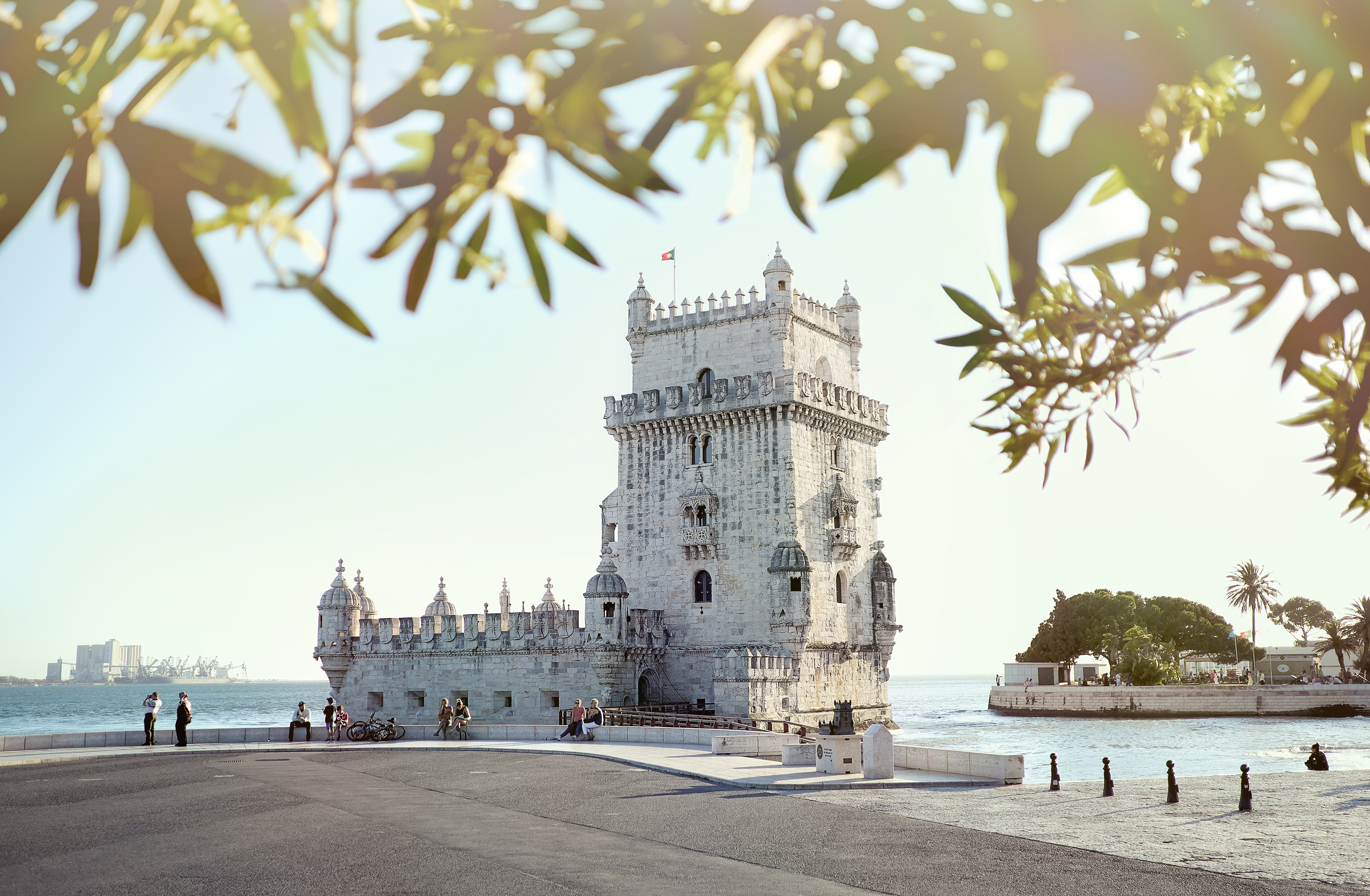 A histórica Torre de Belém