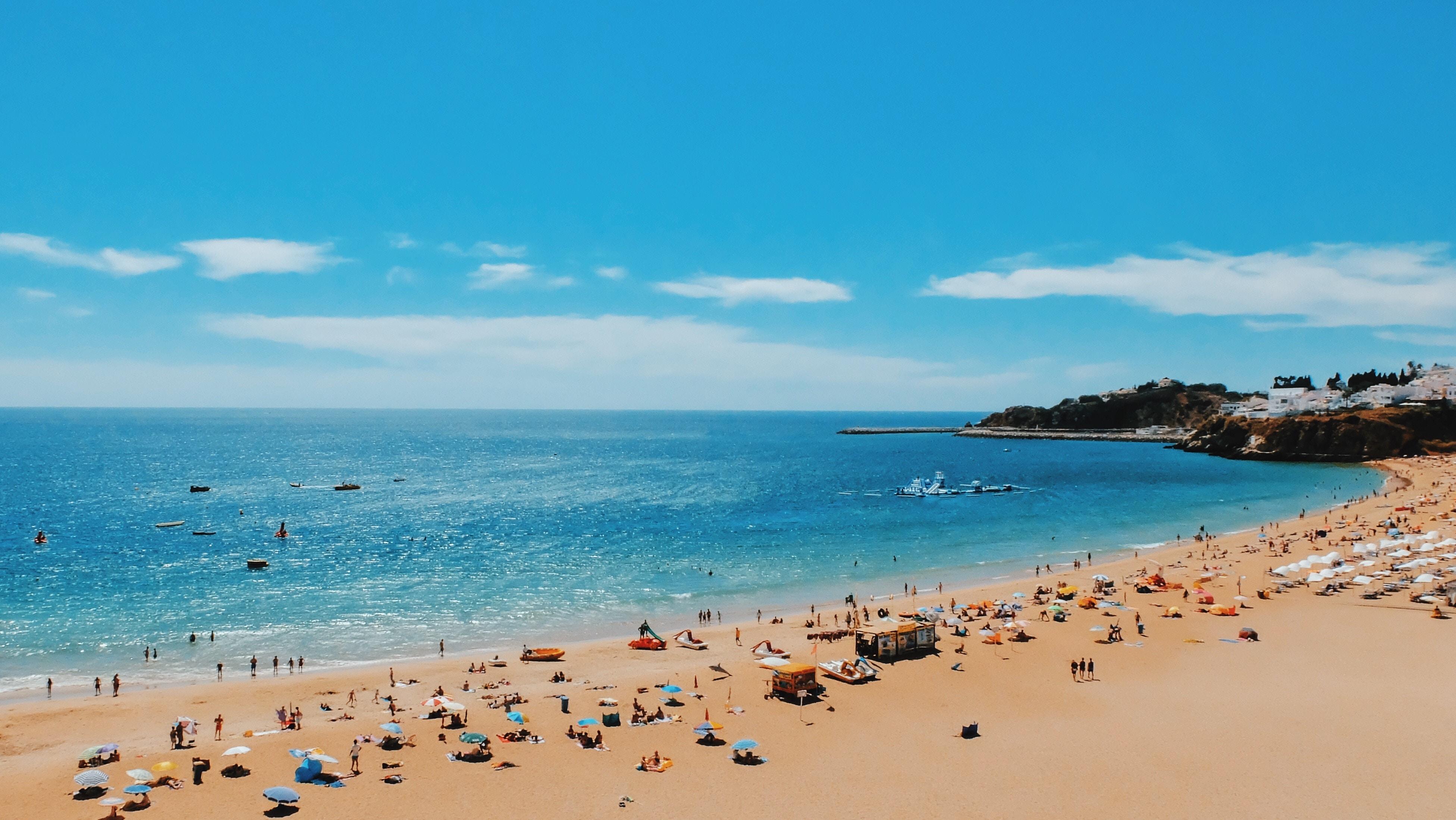 As praias incríveis