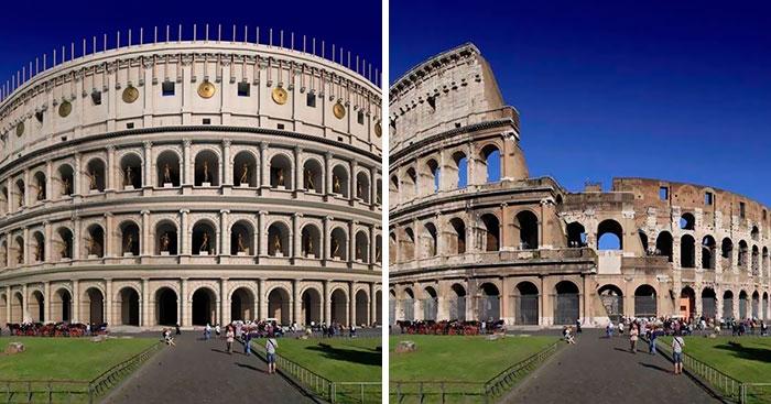 O Império Romano tornou-se num dos maiores impérios da antiguidade. Muitas obras e realizações ficaram para a história. A arquit