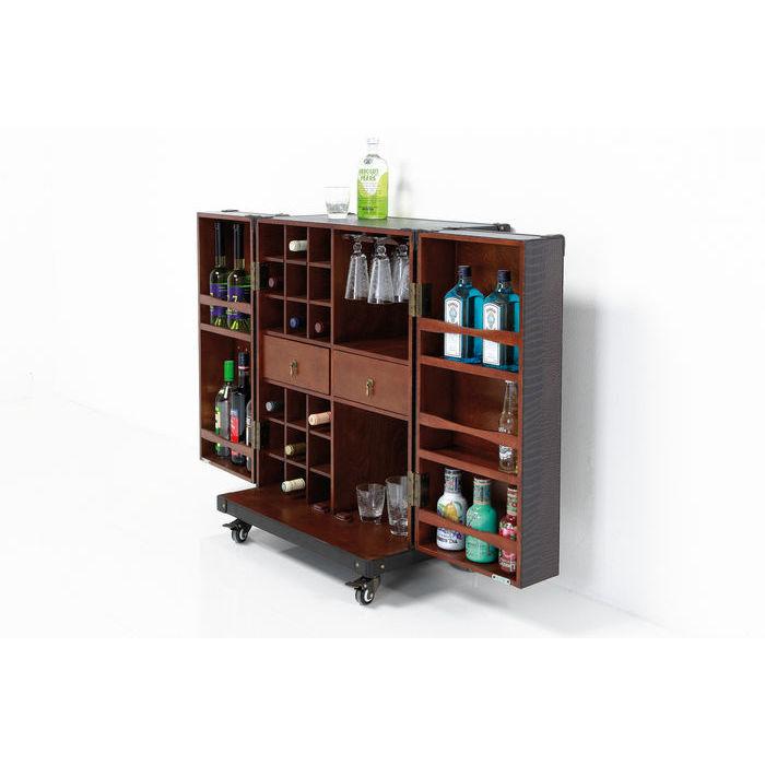 Podes armazenar garrafas e copos