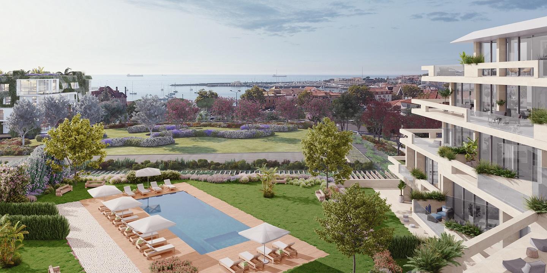 Casas com vista para o mar / Porta da Frente|Christie's