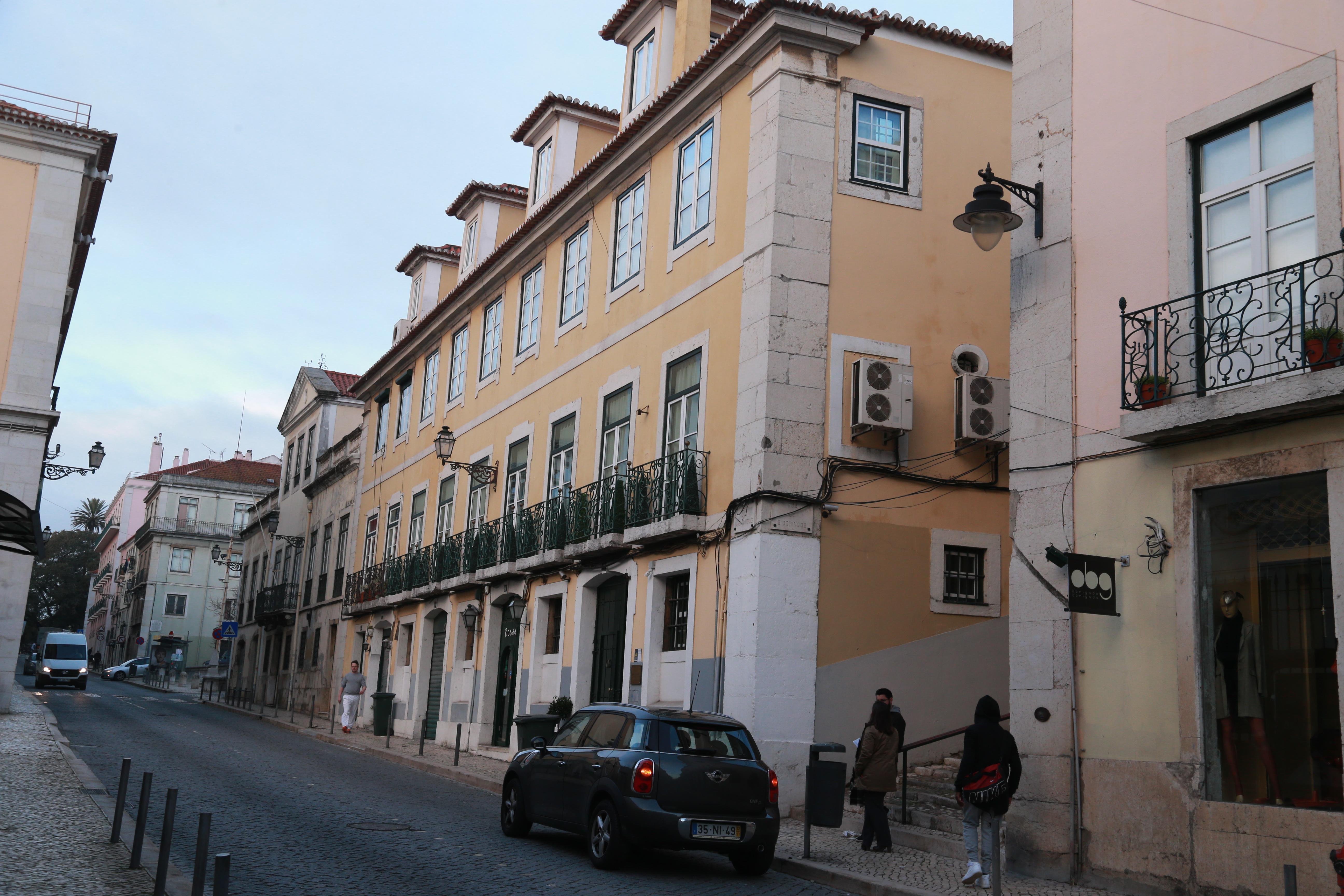 Madonna vive (ou viveu) no Palácio do Ramalhete, em Lisboa, há mais de um ano  / Gtres