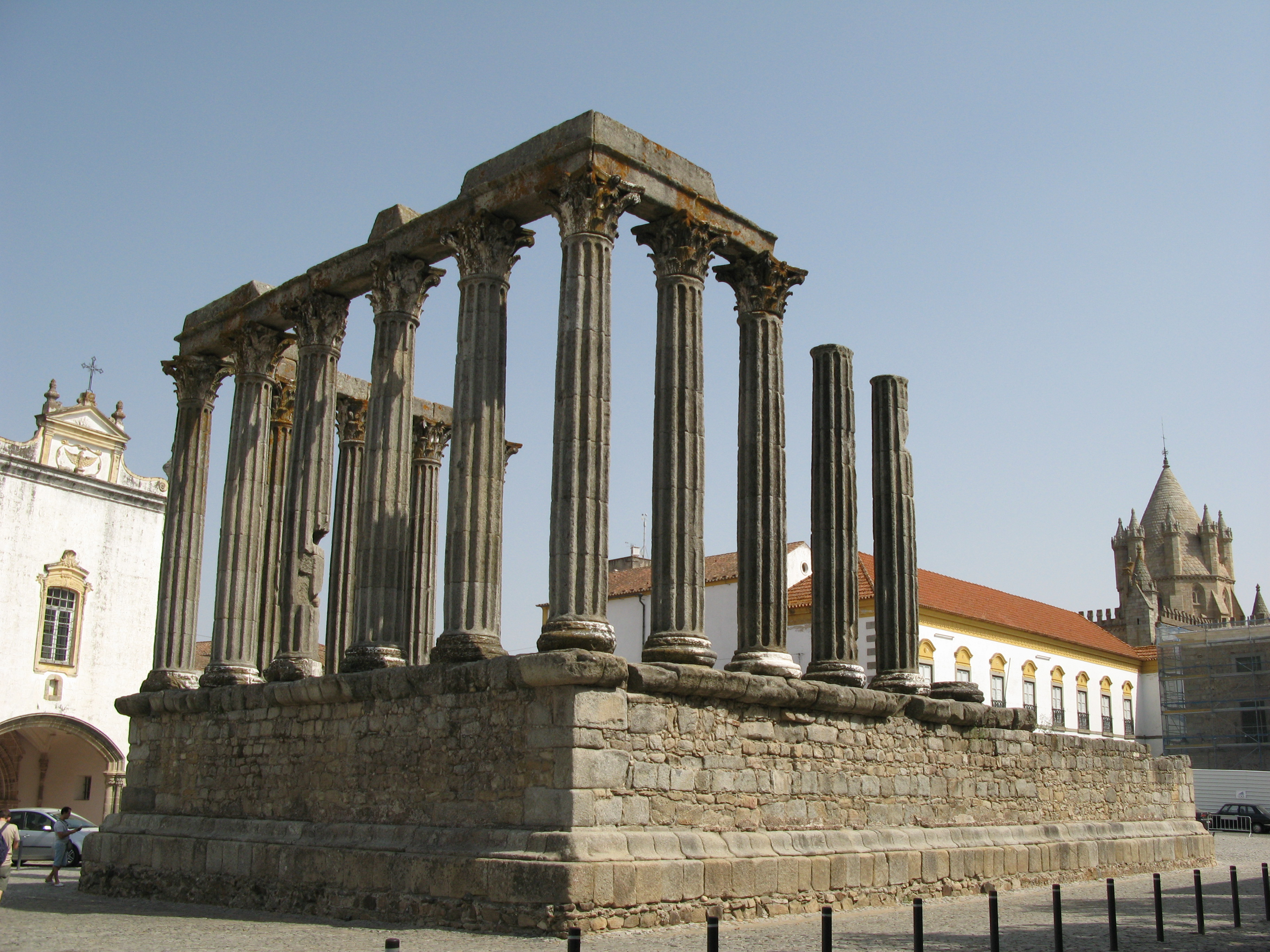 A cultura romana de Évora