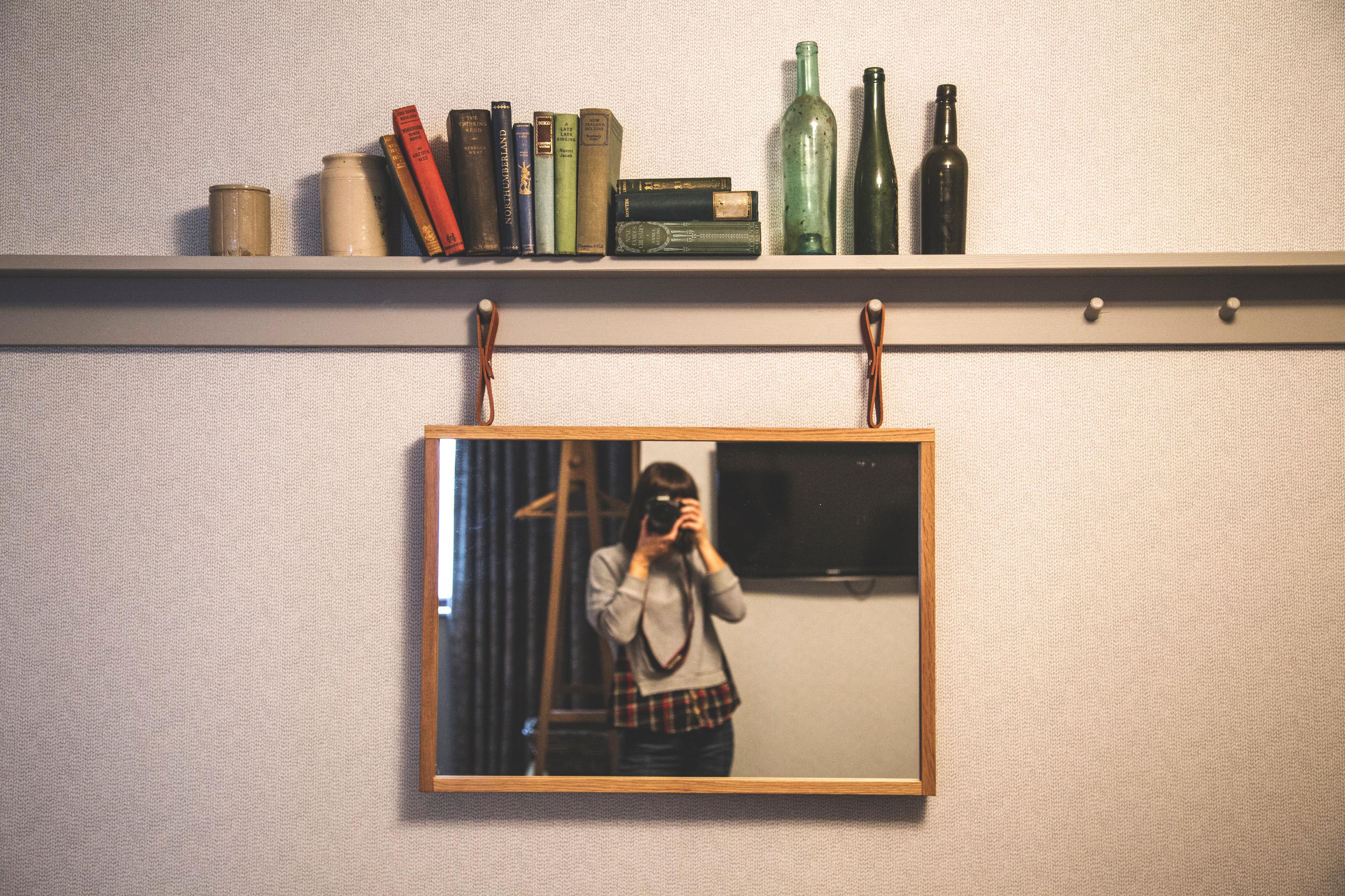 Deixar os espelhos como novos
