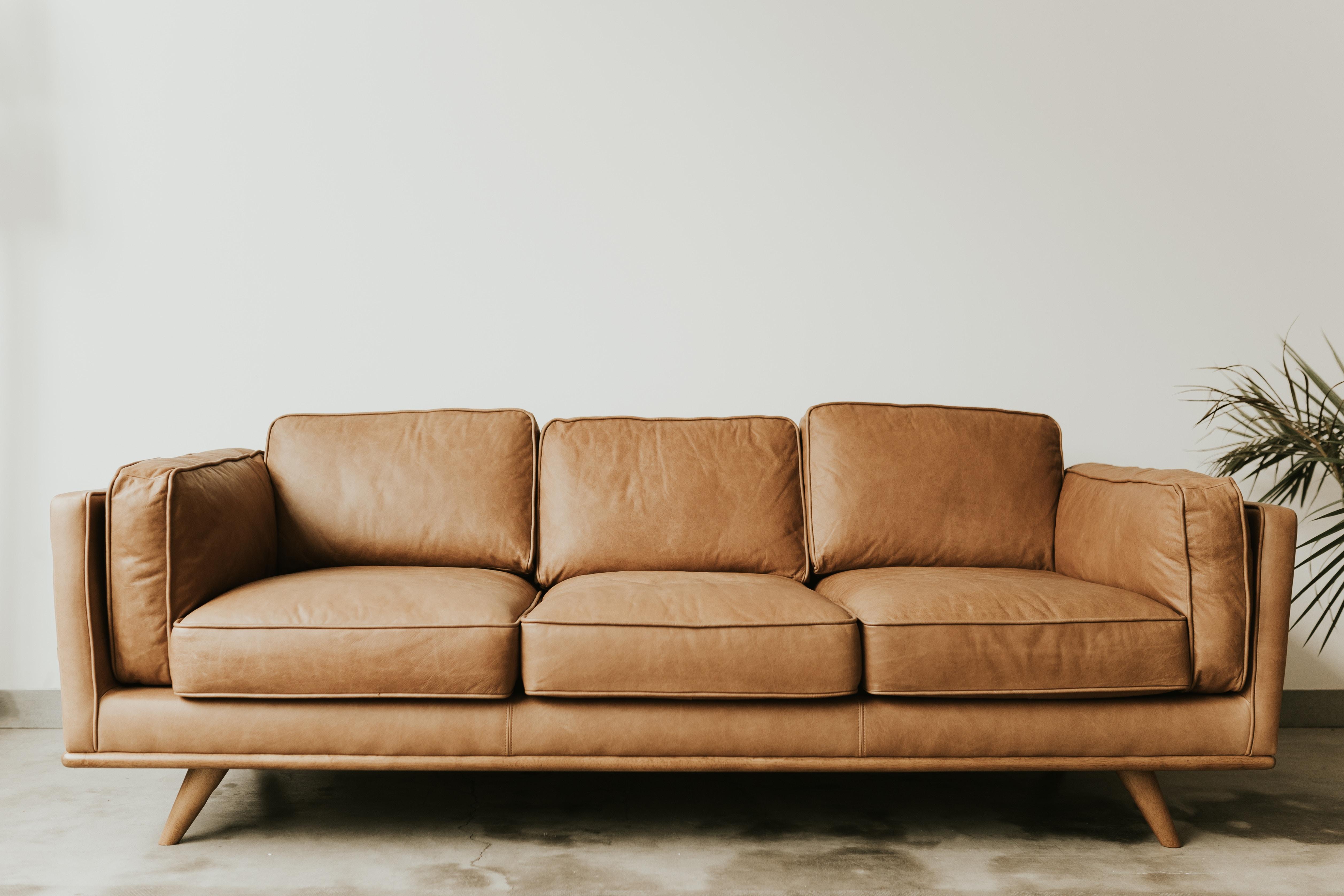 O sofá também pode ajudar