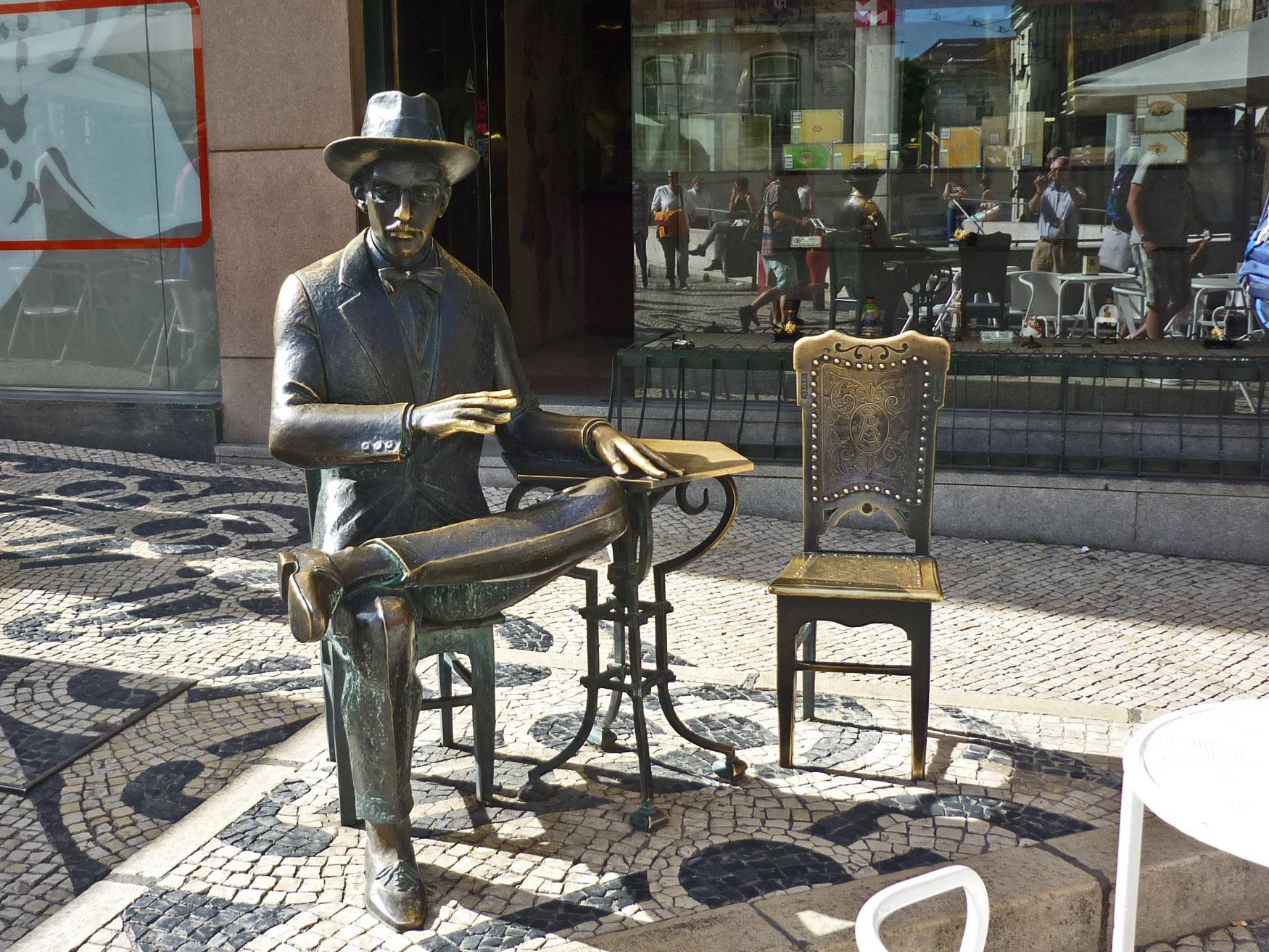 Os grandes autores, como Fernando Pessoa