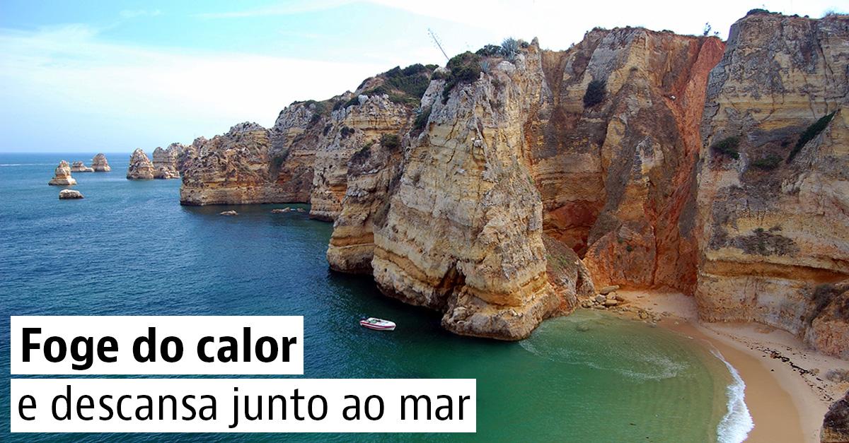 Refresca-te nas praias paradisíacas de Portugal