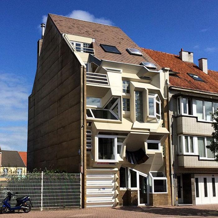 A casa das multi-janelas
