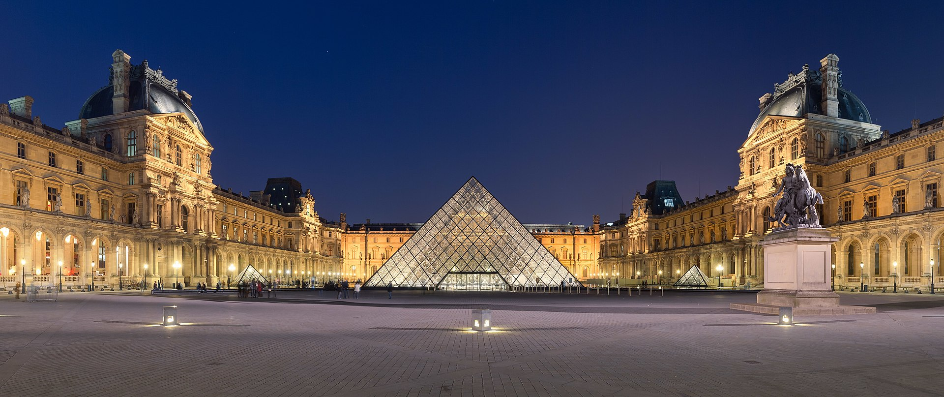 A Pirâmide do Museu do Louvre