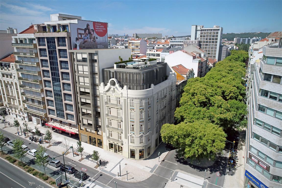 Vista panorämica do edifício / JLL