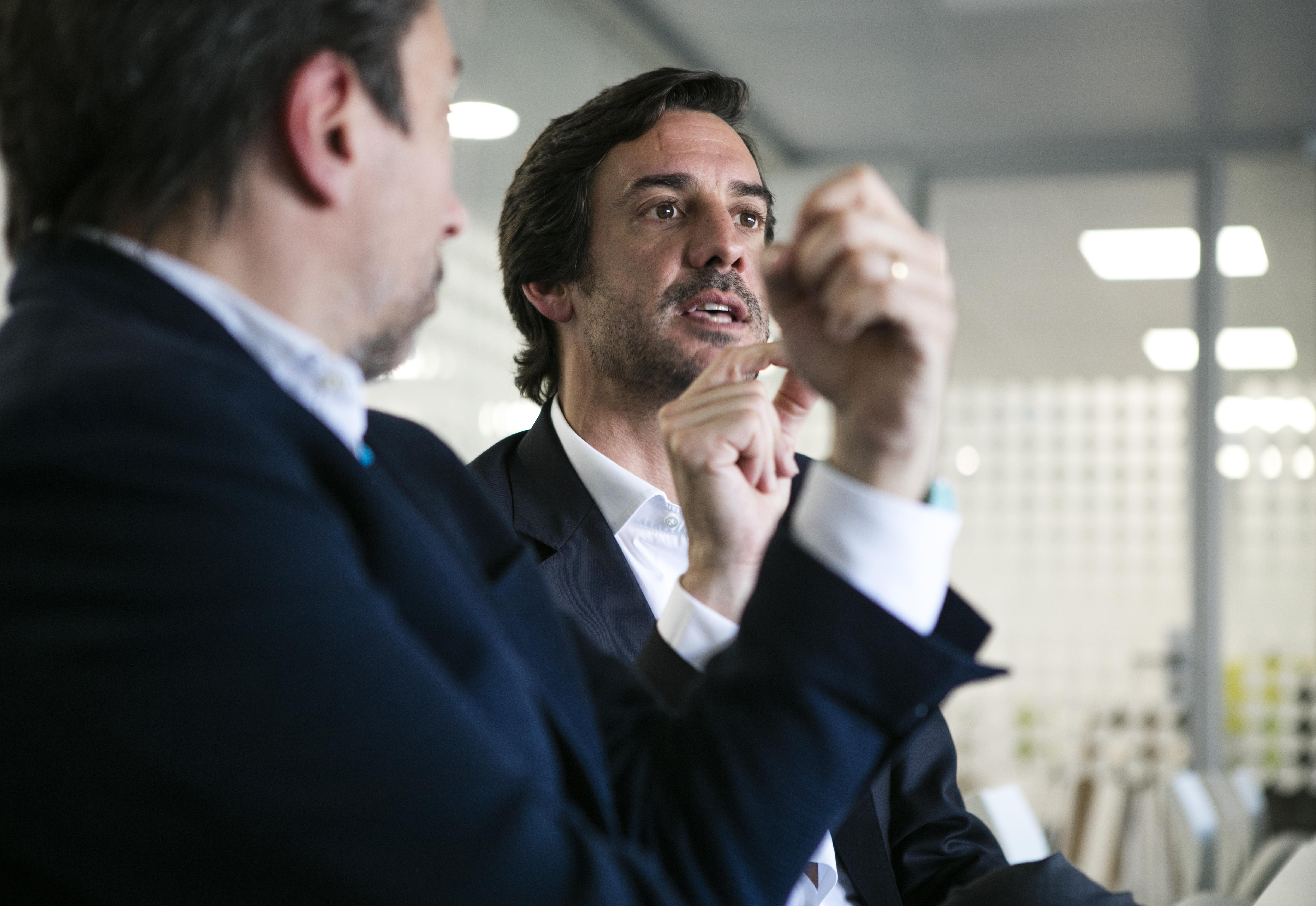 Massimo Forte e Gonçalo Nascimento Rodrigues / Ana Luzia Delgado