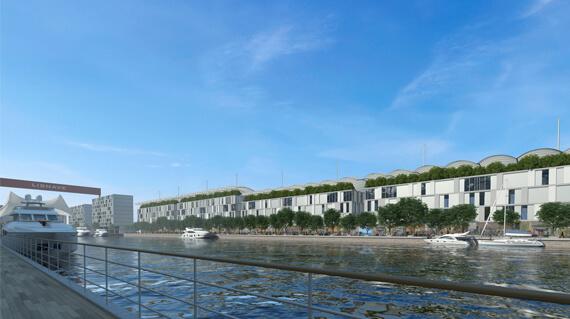 O projeto para a marina de Almada / www.lisbonsouthbay.com