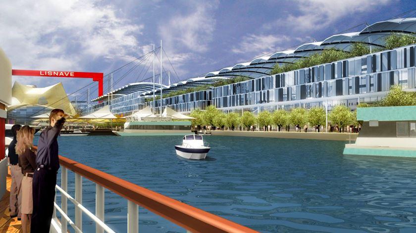 O terminal fluvial