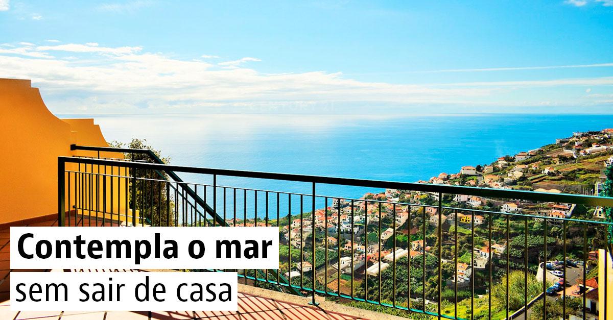 20 casas com vista para o mar
