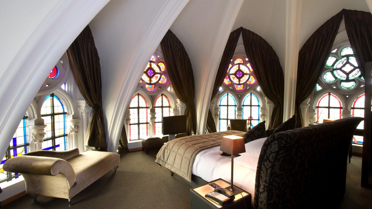 Uma das suites do hotel