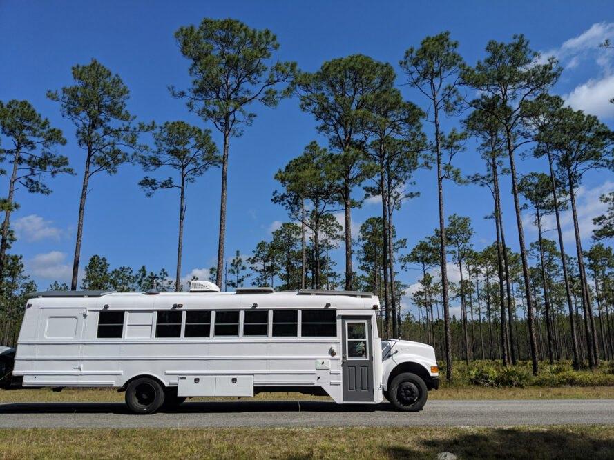 O autocarro que é uma casa