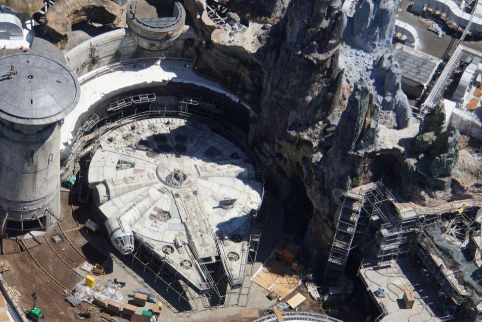 O parque já está a ser construído